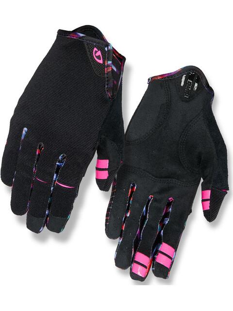 Giro La DND Gloves Women Black/Tropical Daze